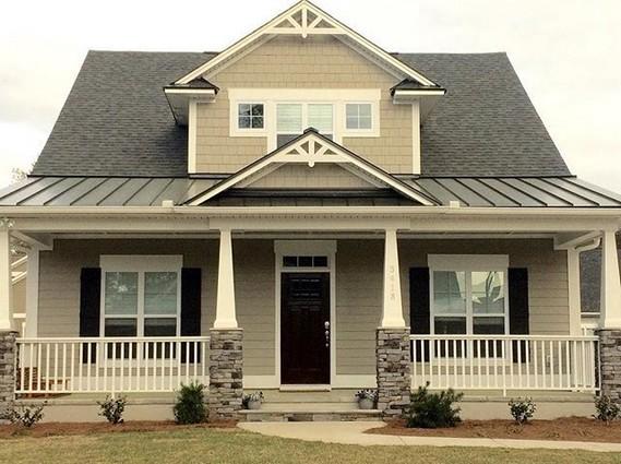 21 Perfect Cottage Exterior Colors Schemes Ideas 26