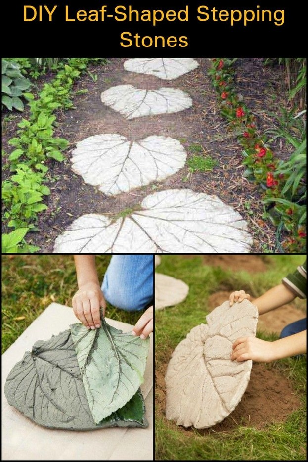 22 Unique Garden Stepping Stone Ideas 25