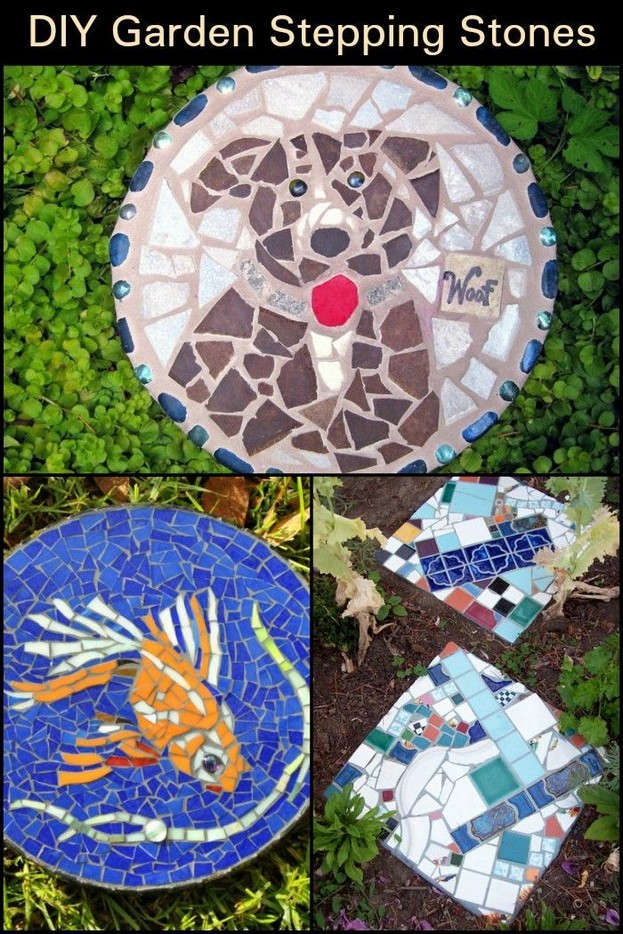 22 Unique Garden Stepping Stone Ideas 29