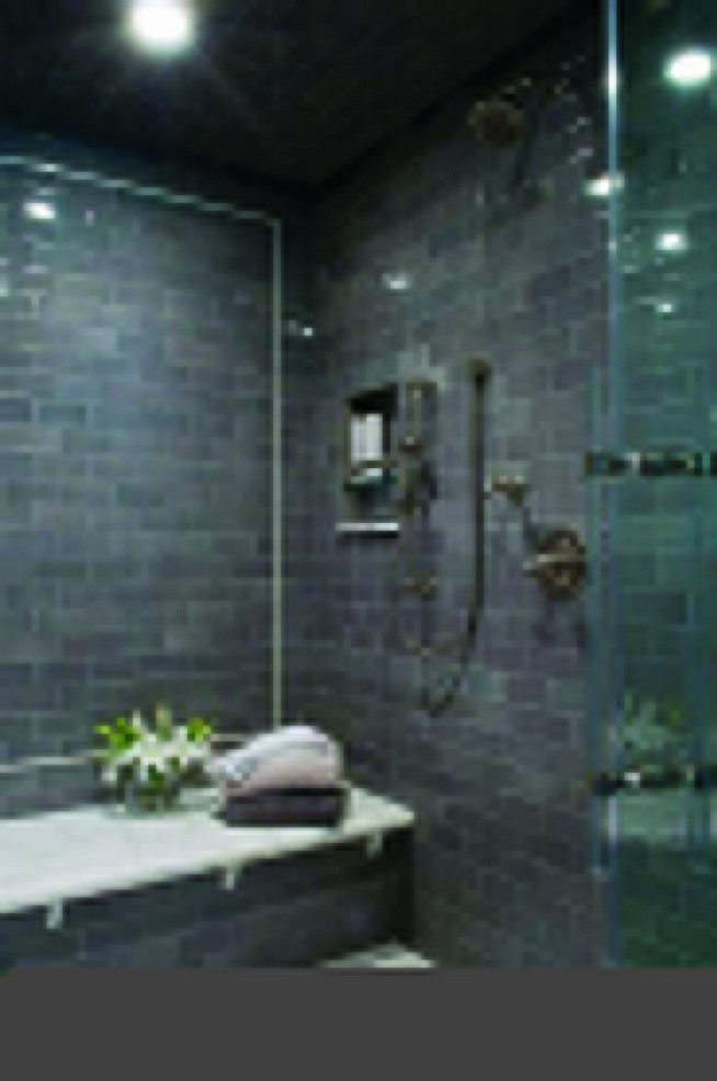 23 Stunning Black Shower Tiles Design Ideas For Bathroom 43