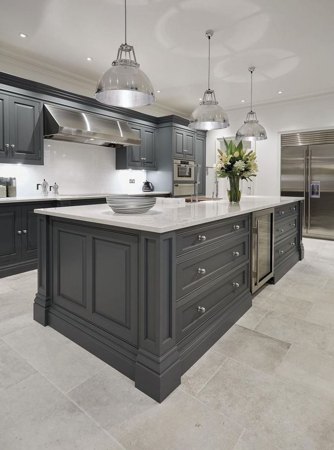 13 Elegant Grey Kitchen Backsplash Ideas Inspiration 19