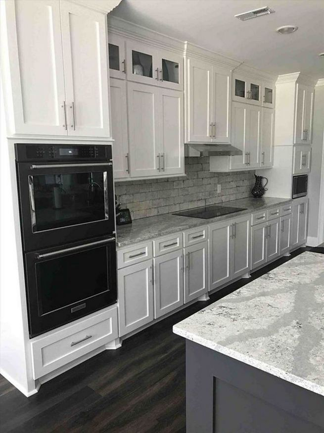 13 Elegant Grey Kitchen Backsplash Ideas Inspiration 22