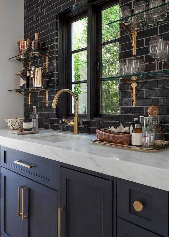 13 Elegant Grey Kitchen Backsplash Ideas Inspiration 27