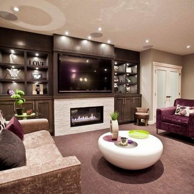 13 Impressive Living Room Ideas With Fireplace And Tv 08