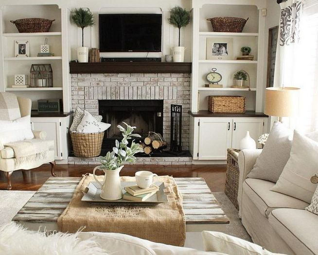 13 Impressive Living Room Ideas With Fireplace And Tv 09