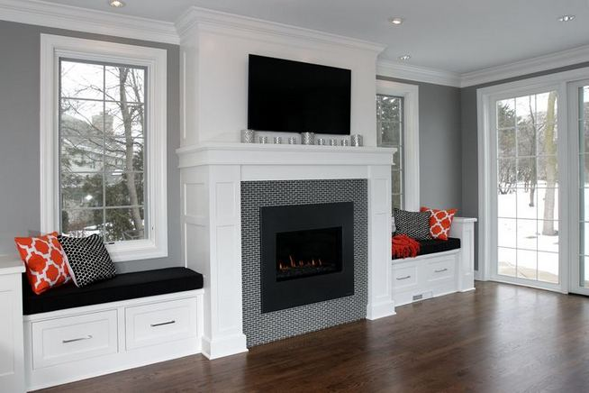 13 Impressive Living Room Ideas With Fireplace And Tv 35
