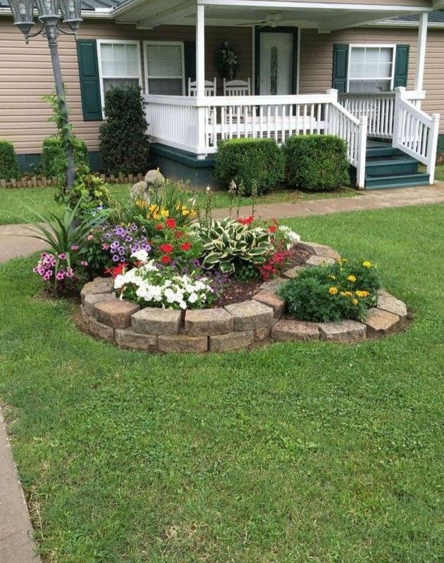 14 Relaxing Front House Landscaping Ideas Lmolnar