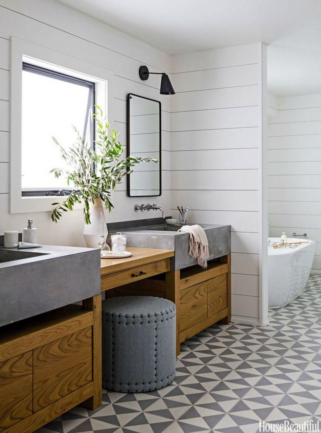 14 Relaxing Luxury Master Bathroom Design Ideas With Rustic Style 21