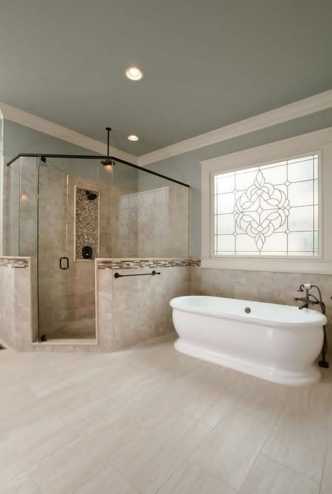 14 Relaxing Luxury Master Bathroom Design Ideas With Rustic Style 35