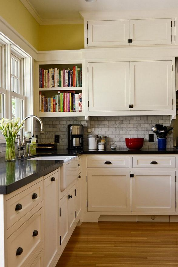 15 Affordable Black And White Kitchen Cabinets 14