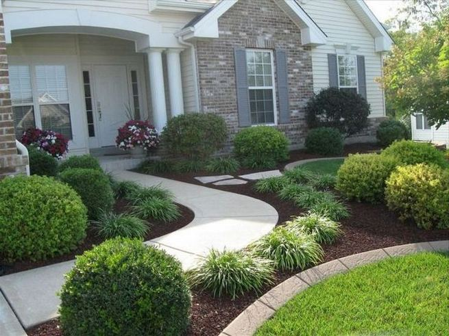 15 Beautiful Front Yard Patio Designs Ideas 37