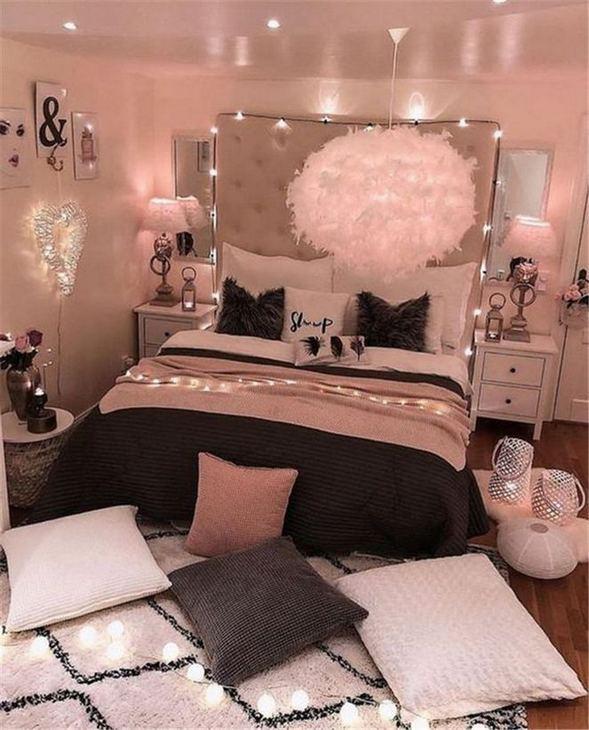 15 Cute Small Teen Bedroom Ideas 19