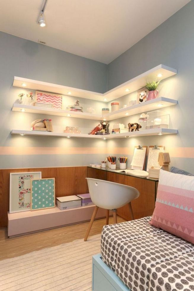 15 Cute Small Teen Bedroom Ideas 27