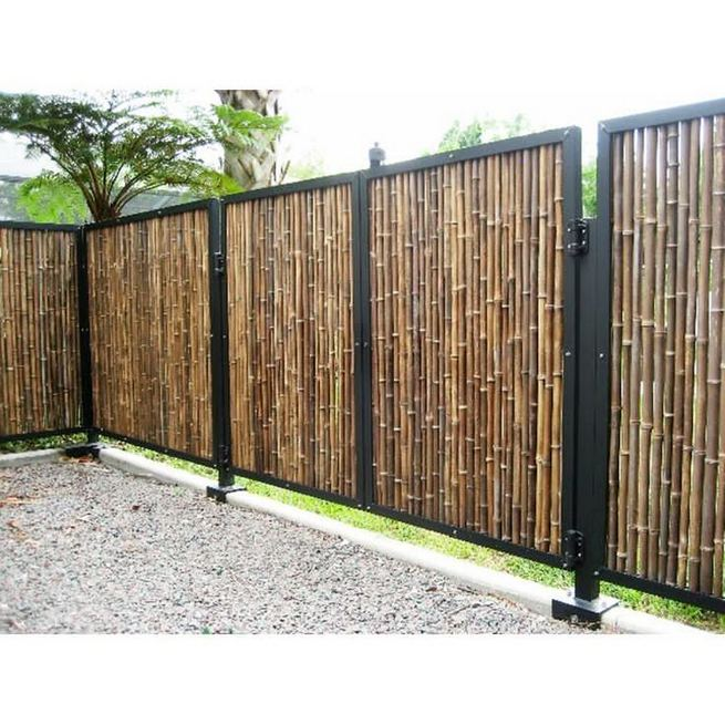 15 Stunning Bamboo Fence Decor Ideas You Can Add For Your Home 23