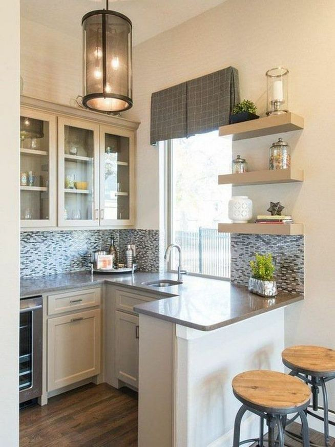 16 Comfy Kitchen Remodel Ideas For Small Kitchen 27