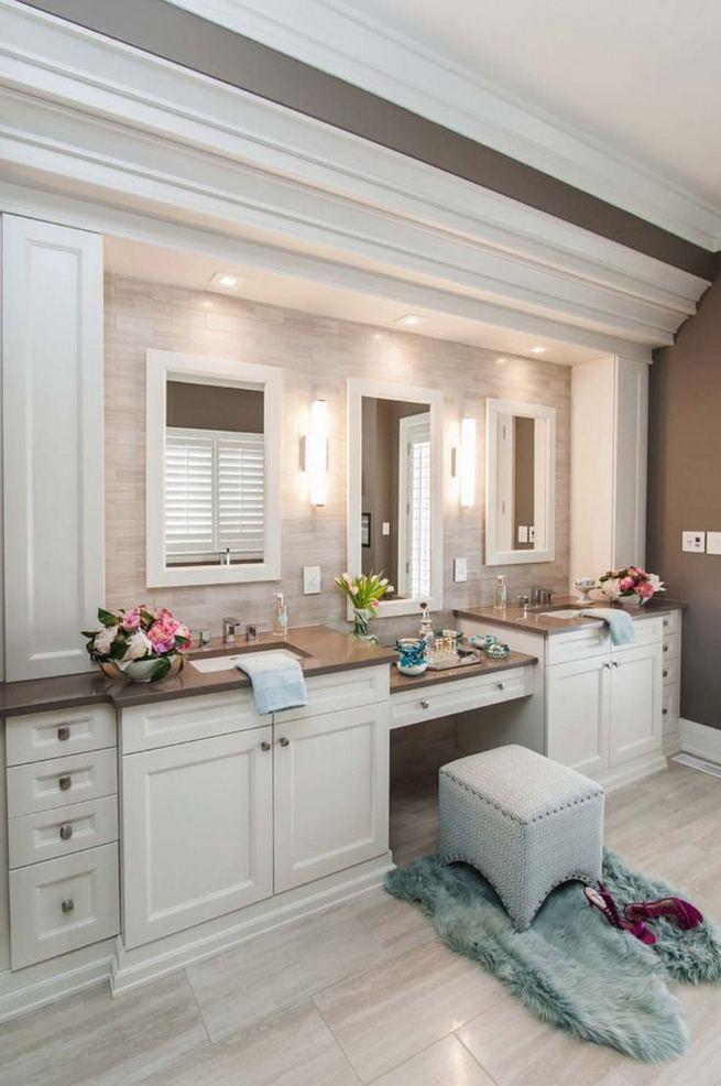 16 Fabulous Traditional Small Bathroom Decor Ideas 17