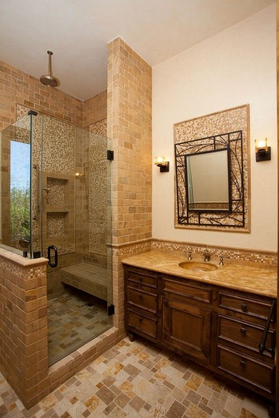 16 Fabulous Traditional Small Bathroom Decor Ideas 20