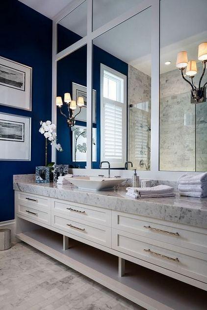 16 Fabulous Traditional Small Bathroom Decor Ideas 39