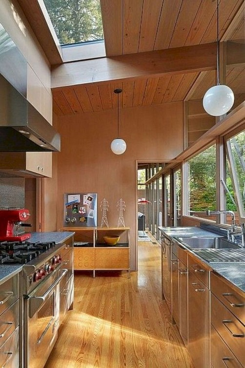 16 Modern Mid Century Kitchen Designs Ideas 45