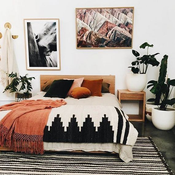 17 Inspiring Bohemian Style Bedroom Decor Design Ideas 49