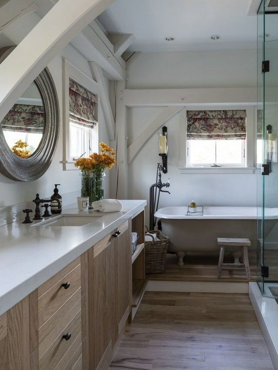 17 Modern Bathrooms With Clawfoot Tubs 10
