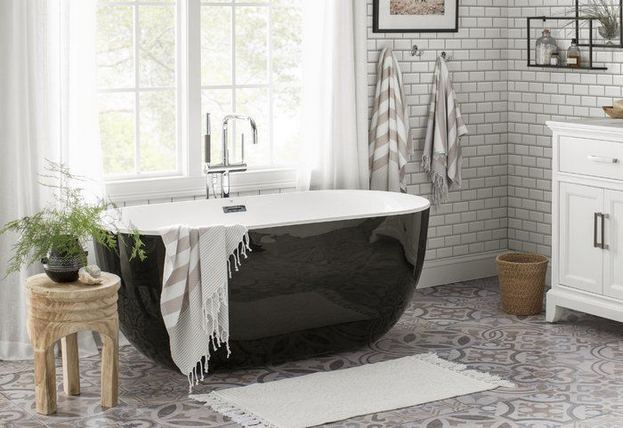 17 Modern Bathrooms With Clawfoot Tubs 26