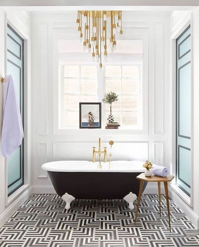 17 Modern Bathrooms With Clawfoot Tubs 38