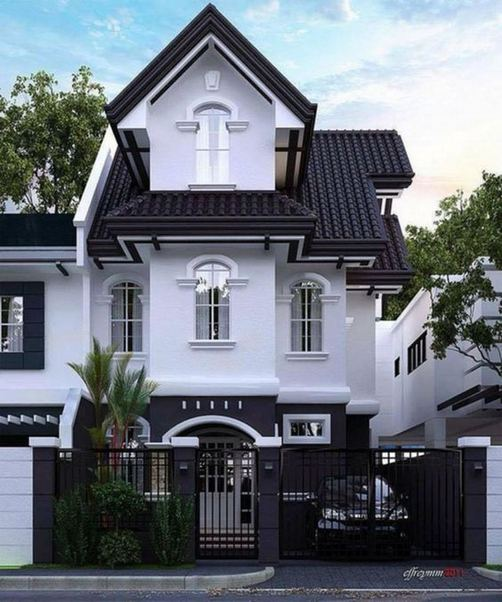 18 Best Ideas For Black House Exterior Design 21