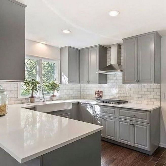 18 Easy Kitchen Cabinet Painting Ideas 29