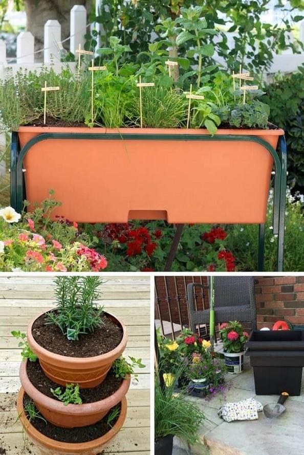 21 Best Container Vegetables Garden Inspirations Ideas 14