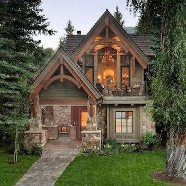 21 Gorgeous Cottage House Exterior Design Ideas 33