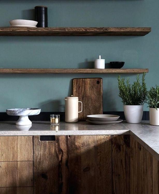 21 Gorgeous Dark Blue Kitchen Cabinets 08