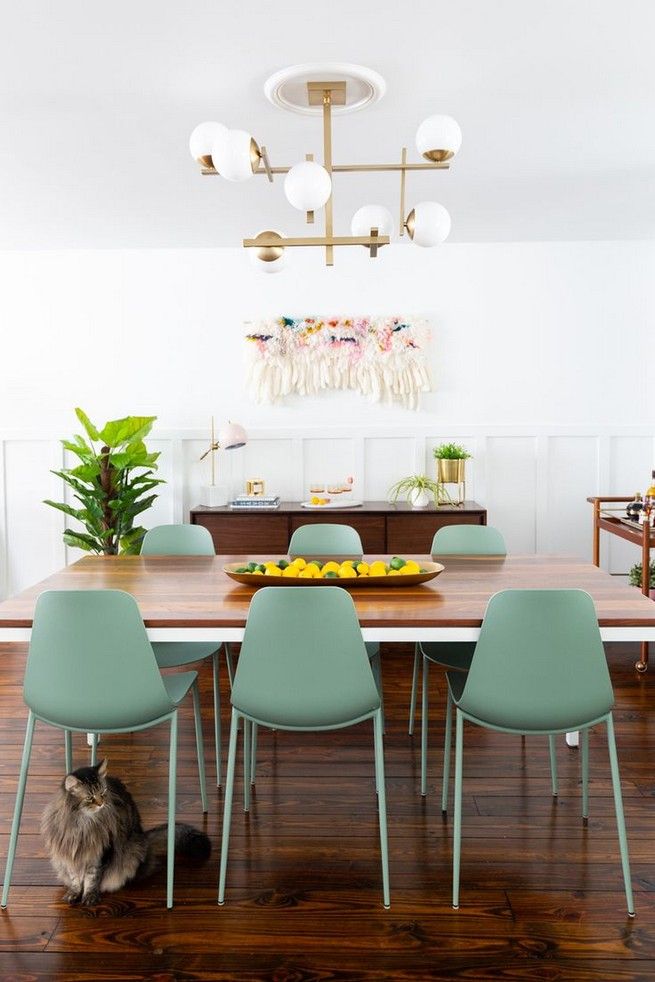 22 Easy Green Dining Room Design Ideas 12