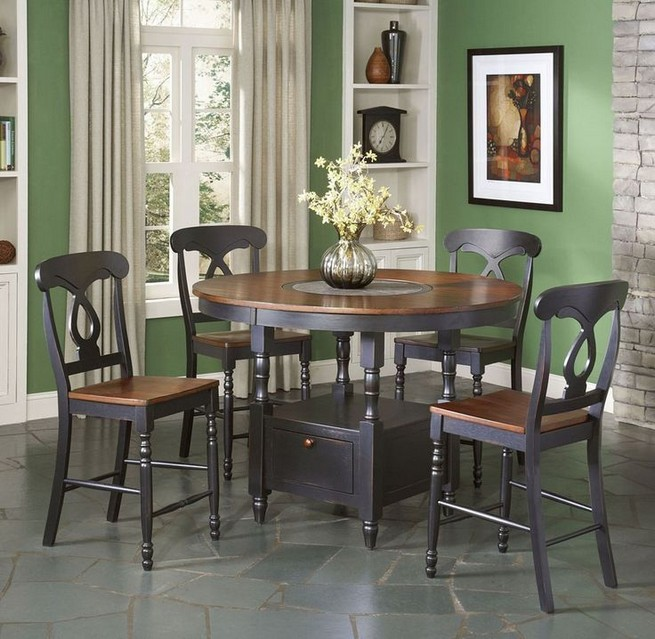 22 Easy Green Dining Room Design Ideas 15