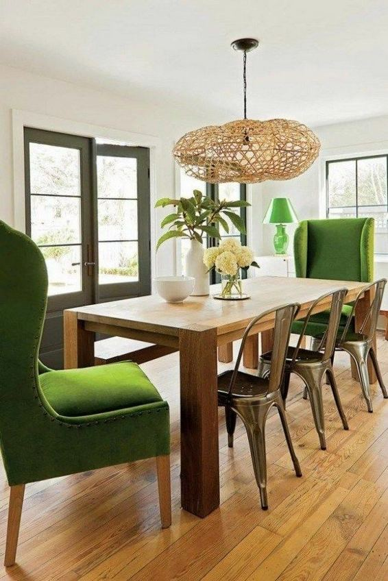 22 Stylish Modern Farmhouse Dining Room Remodel Ideas 09