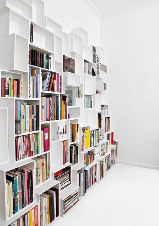 23 Awesome Industrial Wall Bookshelves Designs Ideas 33