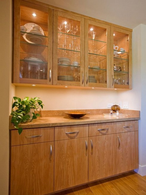 23 Cool Dining Room Wall Cabinet Design Ideas 05