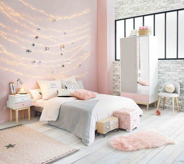 23 Cozy Cute Pink Bedroom Design Decor Ideas For Kids 11