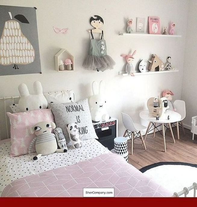23 Cozy Cute Pink Bedroom Design Decor Ideas For Kids 24