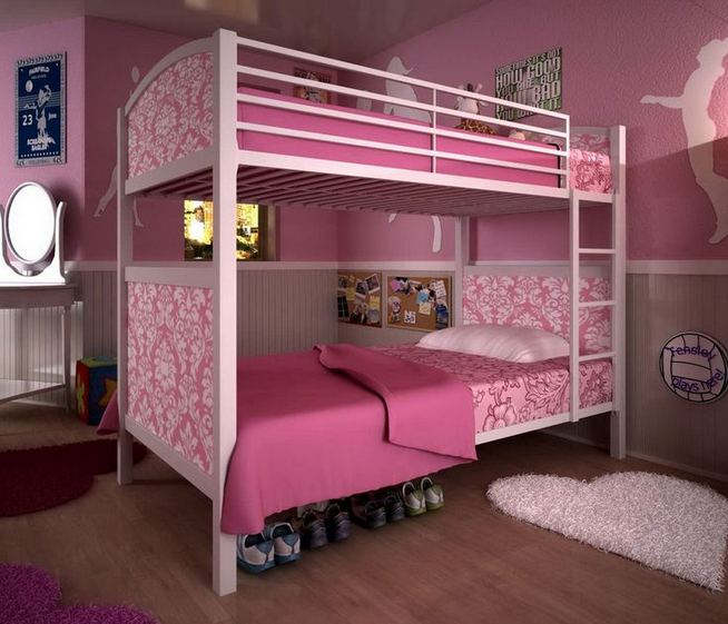 23 Cozy Cute Pink Bedroom Design Decor Ideas For Kids 31
