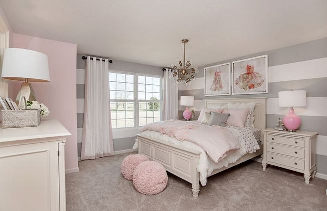 23 Cozy Cute Pink Bedroom Design Decor Ideas For Kids 35