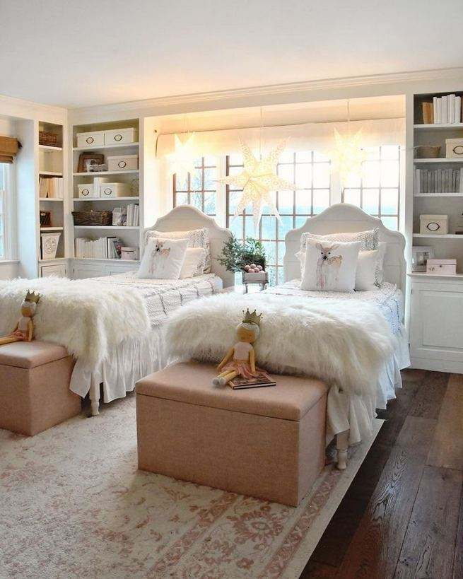 23 Cozy Cute Pink Bedroom Design Decor Ideas For Kids 46