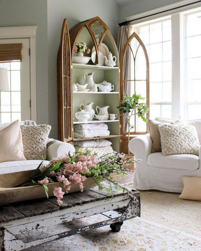 23 Wonderful French Country Living Room Decoration Ideas 31
