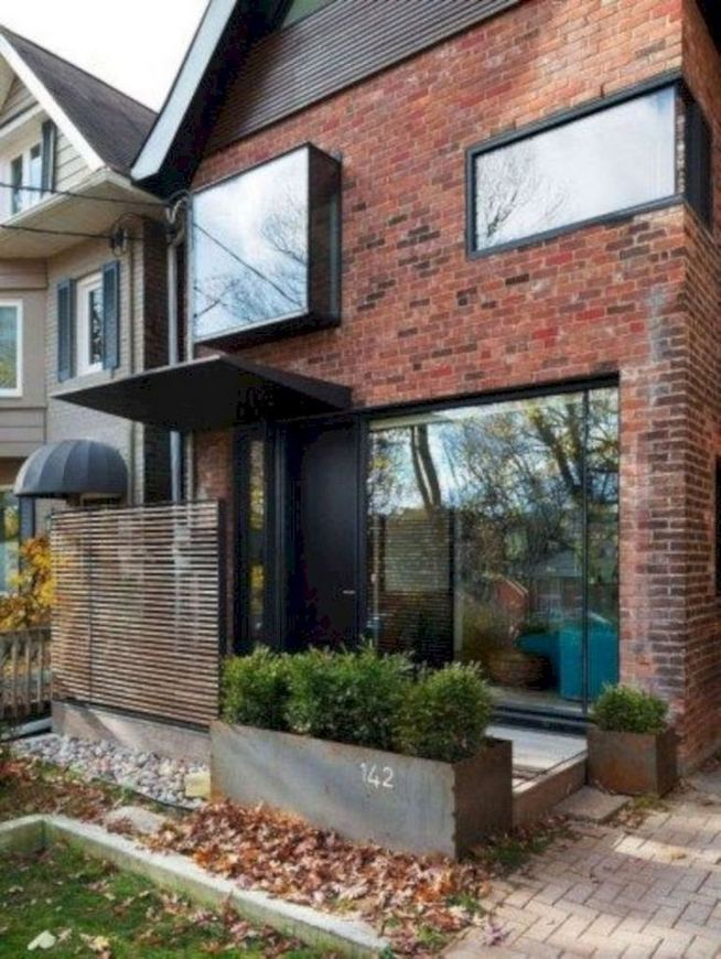24 Adorable Brick House Exterior Makeover 36