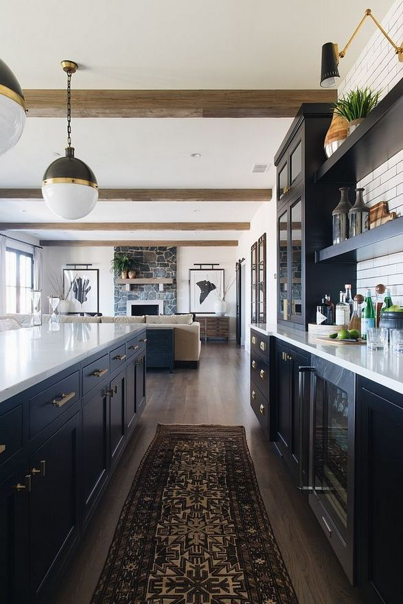 25 Best Ideas For Black Cabinets In Kitchen 21
