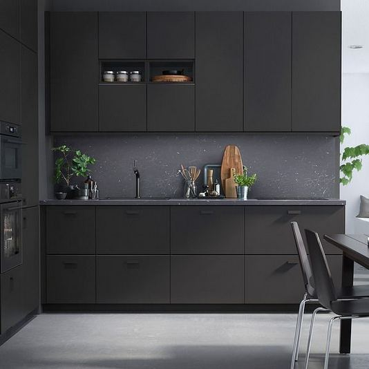 25 Best Ideas For Black Cabinets In Kitchen 29