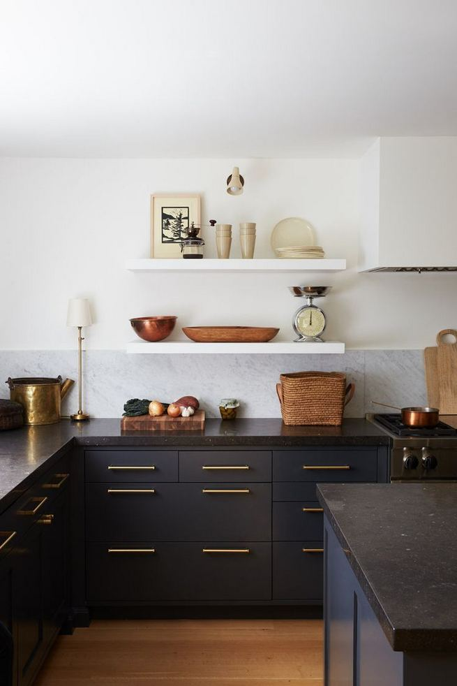 25 Best Ideas For Black Cabinets In Kitchen 34