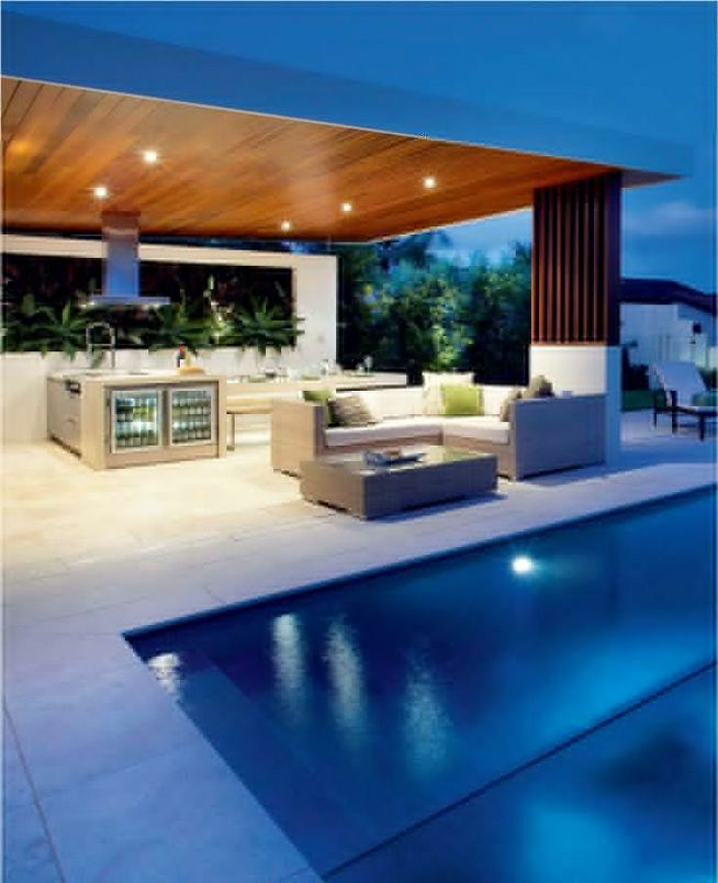 12 Fancy And Modern Outdoor Kitchen Design Ideas 05