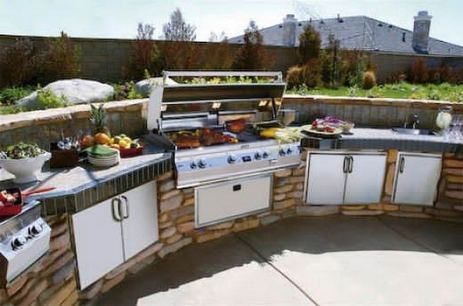 12 Fancy And Modern Outdoor Kitchen Design Ideas 19