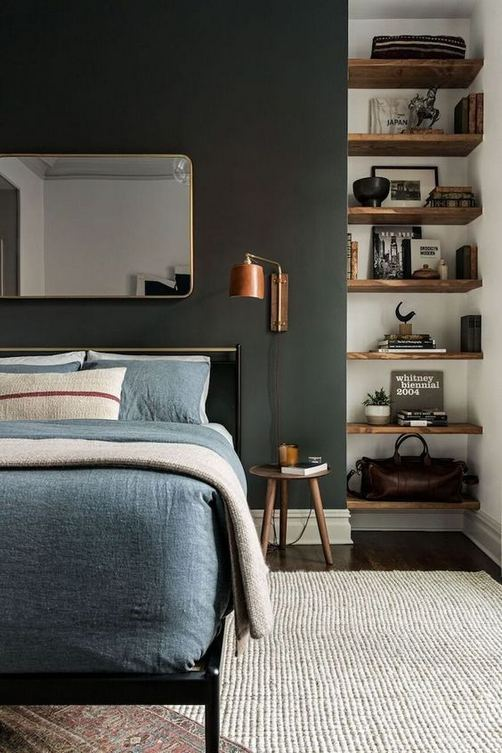 12 Stylish Industrial Style Bedroom Design Ideas 23